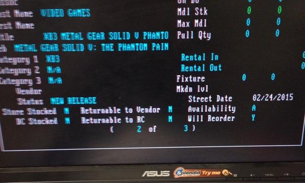 Metal Gear Solid: The Phantom Pain podría llegar el 24 de febrero de 2015