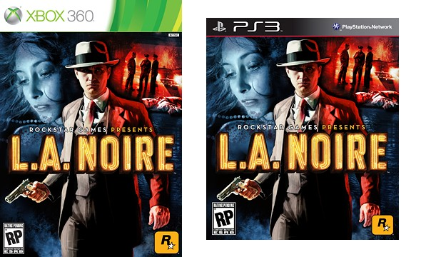 L.A. Noire, la cover americana