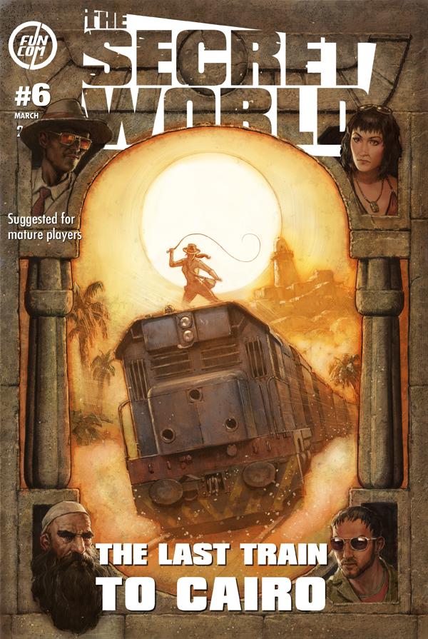 The Secret World: annunciato l'Issue #6 'The Last Train to Cairo'