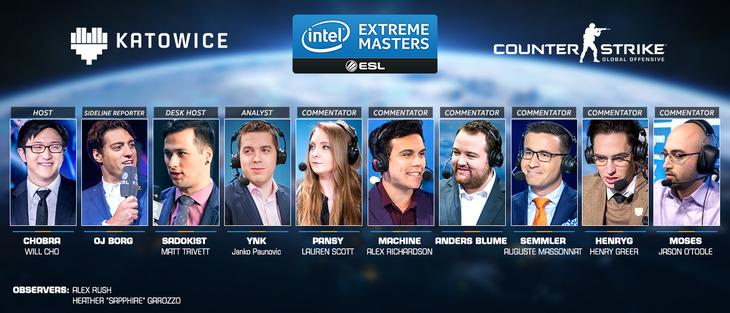 Intel Extreme Masters 2016: Ecco i protagonisti del torneo di CS:GO