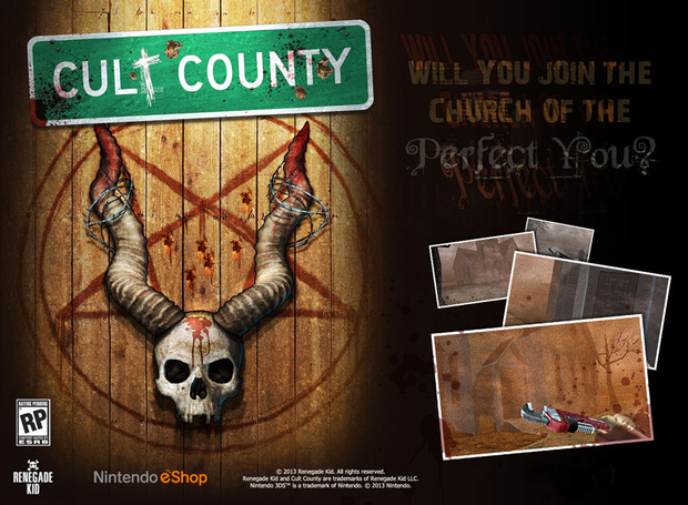 Renegade Kid annuncia l'FPS Cult Country per l'eShop del 3DS