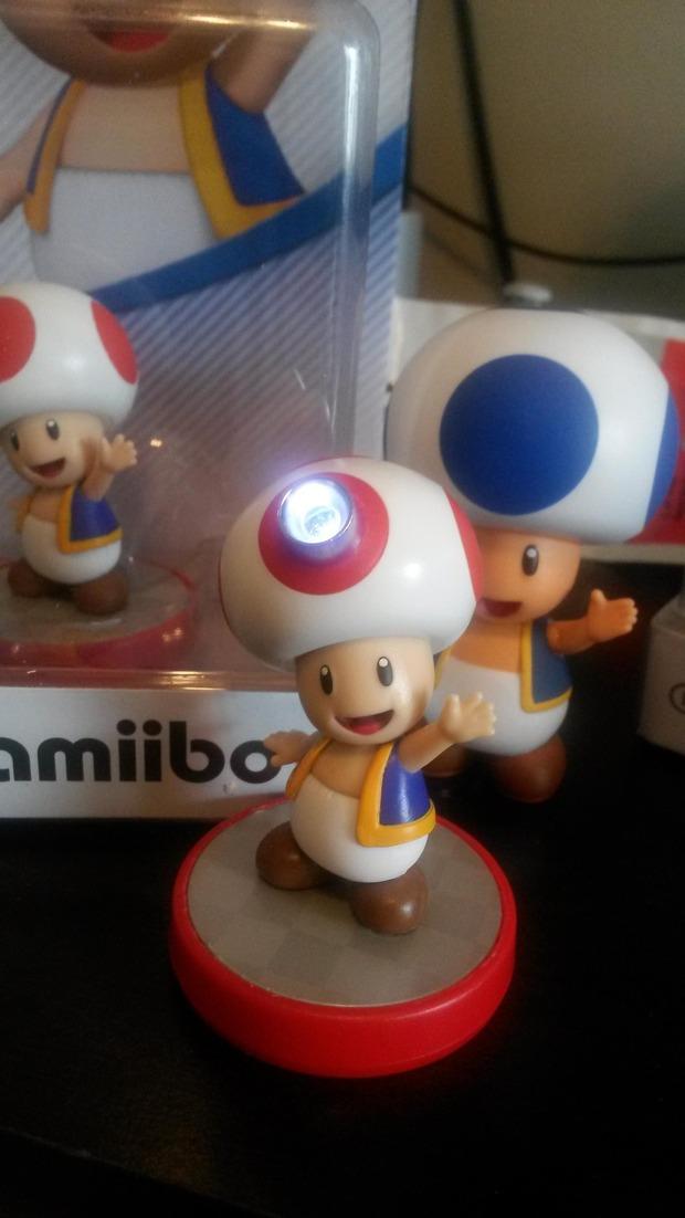 Amiibo: un fan crea la statuina di Captain Toad