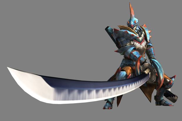 Le Armi di Monster Hunter 3: Long Swords