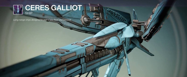 L'espansione di Destiny Il Casato dei Lupi introduce la nuova nave Ceres Galliot