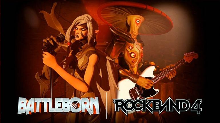 Battleborn: i personaggi del gioco arrivano in Rock Band 4