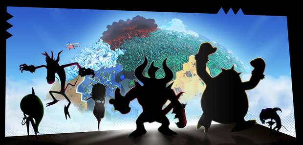 Sonic Lost World: immagine teaser  per 6 personaggi