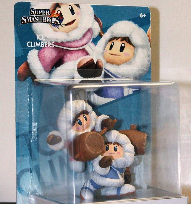 Uno sguardo all'Amiibo custom degli Ice Climbers