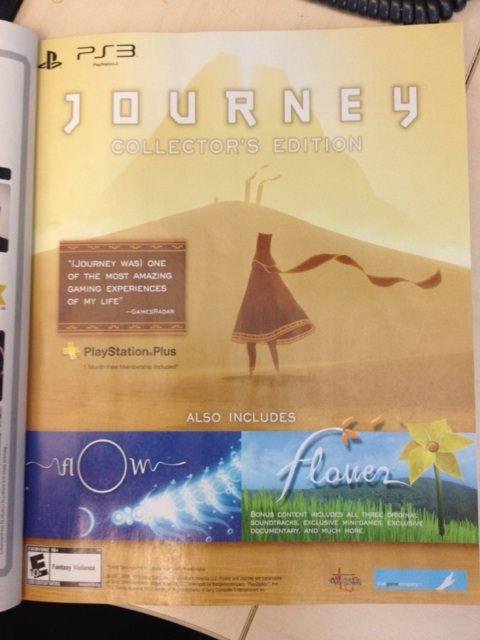 La Journey Collector's Edition conterrà tre colonne sonore, contenuti esclusivi, minigiochi ed altro ancora