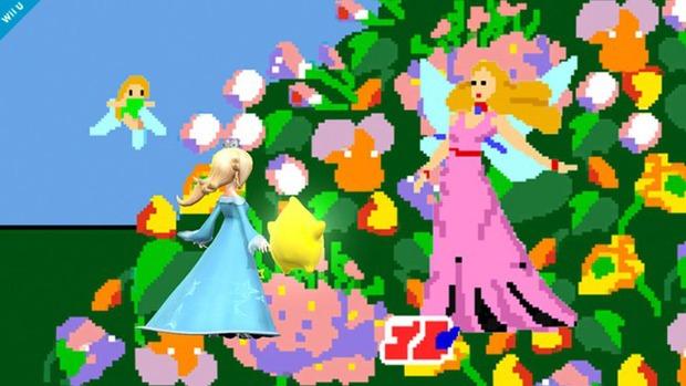 Super Smash Bros. Wii U: rilasciata un'immagine per Rosalinda