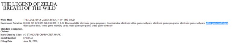 Nintendo NX: supporto a cartucce citato in un documento dell'ufficio brevetti americano