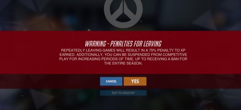 Overwatch: pesanti penalità per chi abbandona i match in modalità Competitiva