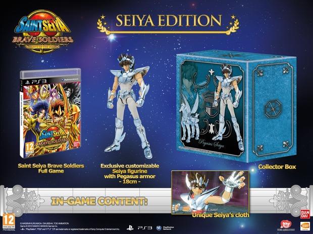 Saint Seiya: Brave Soldiers - annunciata la limited edition europea