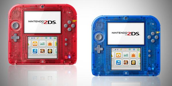 Nintendo 2DS: annunciate due colorazioni trasparenti