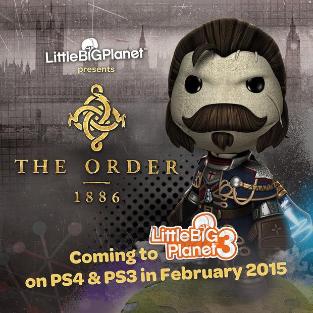 LittleBigPlanet 3 avrà un costume dedicato a The Order 1886