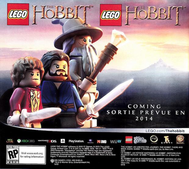 LEGO The Hobbit in arrivo nel 2014