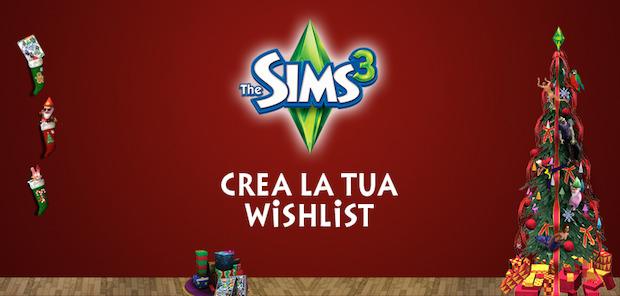 The sims 3 crea la tua lista dei desideri per natale for Crea la tua planimetria gratis
