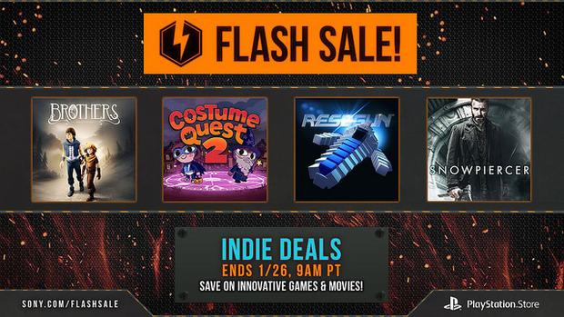 PlayStation Store USA: giochi indie in offerta fino al 26 gennaio