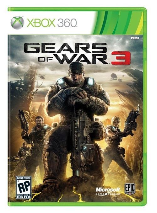 La cover ufficiale di Gears of War 3