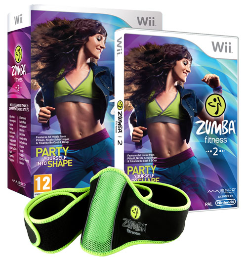 Zumba Fitness 2 e Zumba Fitness Rush disponibili nei negozi