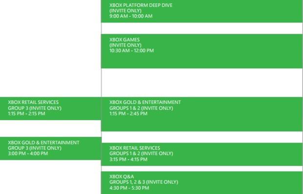 Microsoft terrà un evento interno dedicato alla Xbox dal 4 al 7 marzo