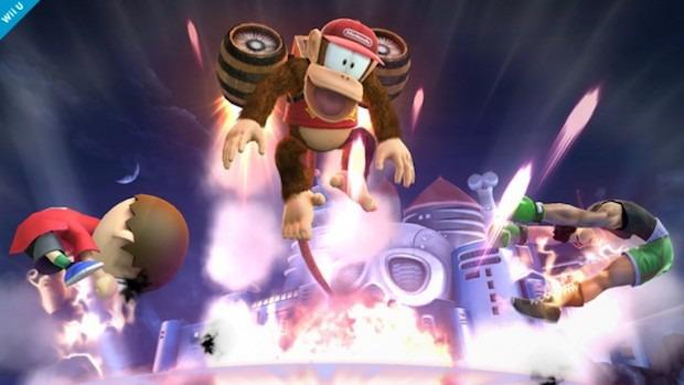 Super Smash Bros: nuovo screenshot di Diddy Kong