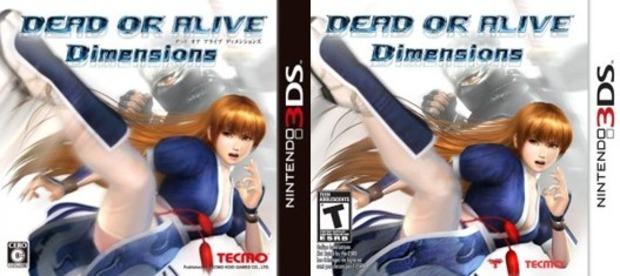 Dead or Alive Dimensions: censurata la cover USA