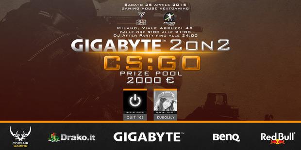 Nuovo torneo di Counter-Strike Global Offensive e presentazione della Gaming House di NextGaming il 25 aprile a Milano