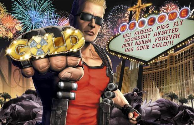 Duke Nukem Forever è entrato in fase Gold!