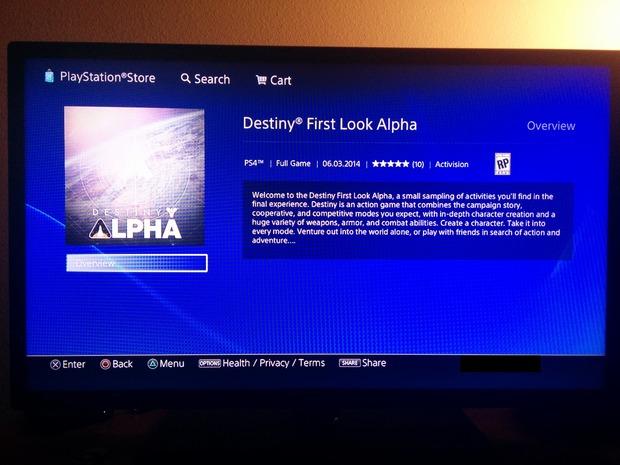 Destiny: una versione Alpha sarà rilasciata il 3 Giugno su PS4?