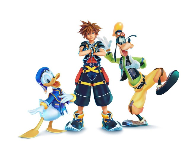 Kingdom Hearts 3: Square Enix pubblica l'artwork dei personaggi