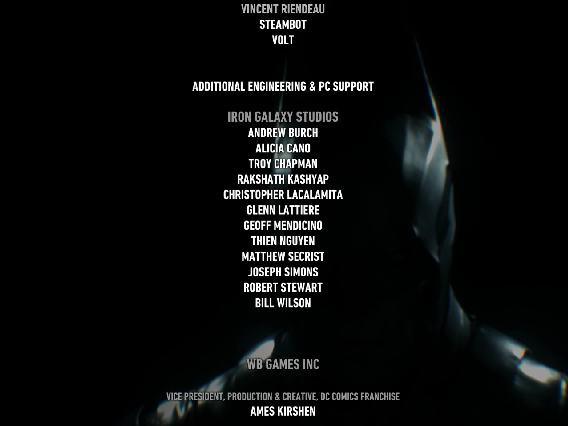 Iron Galaxy Studios ha contribuito allo sviluppo della versione PC di Batman Arkham Knight