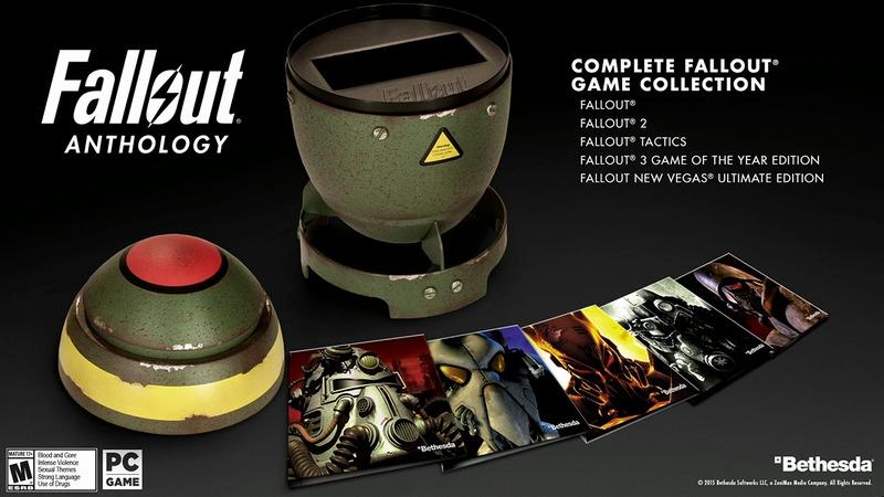Annunciata sul palco della QuakeCon la Fallout Anthology