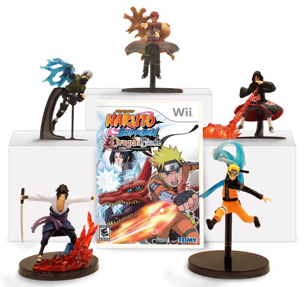 Naruto Shippuden: Dragon Blade Chronicles, gadget per il mercato USA