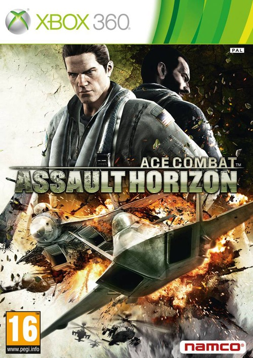 Ace Combat Assault Horizon: la copertina ufficiale