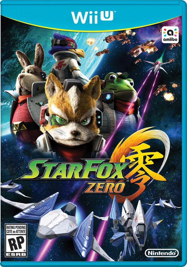 Ecco la copertina di Star Fox Zero