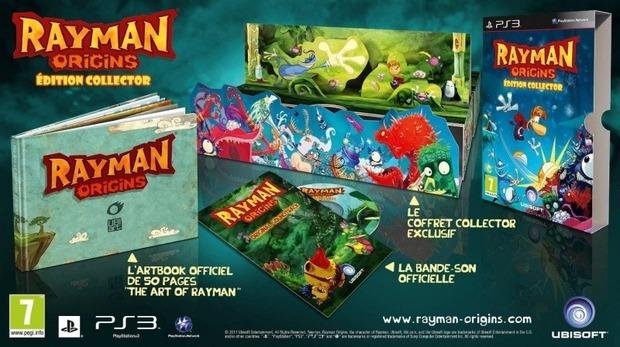 Rayman Origins: arriva una collector's edition