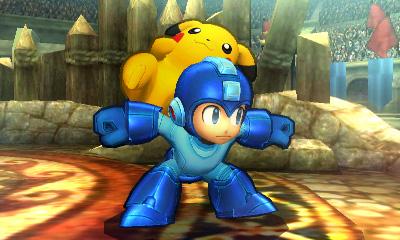 Super Smash Bros 3DS: una nuova immagine per Mega-Man e Pikachu
