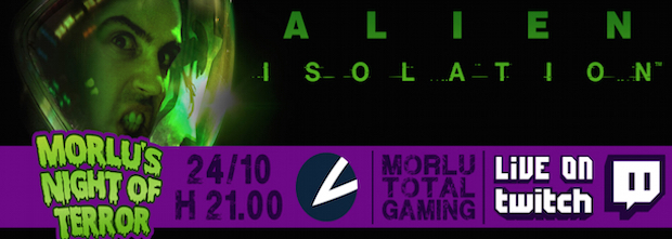 Alien Isolation: Morlu's Night of Terror il 24 ottobre alle 21:00 - Notizia