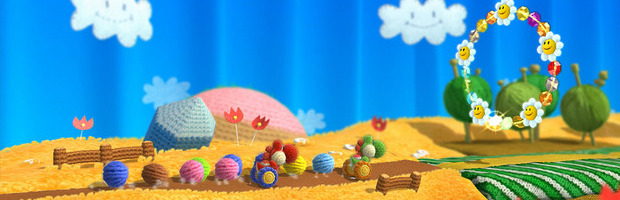 Yoshi's Woolly World - Gameplay off-screen dalla Games Week - Replica - Notizia
