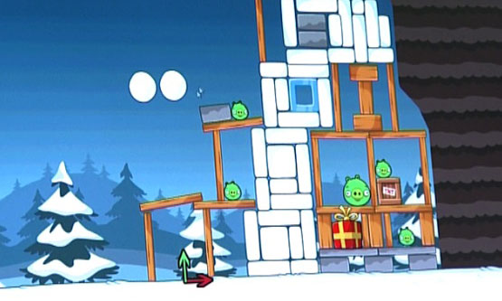 Un'immagine conferma Angry Birds Christmas