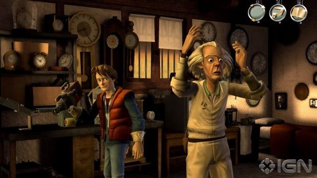 Prime immagini ufficiali per il videogioco di Ritorno al Futuro