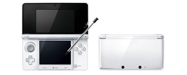 Le colorazioni bianca e rosa del Nintendo 3DS in vendita dal 10 Febbraio in Europa