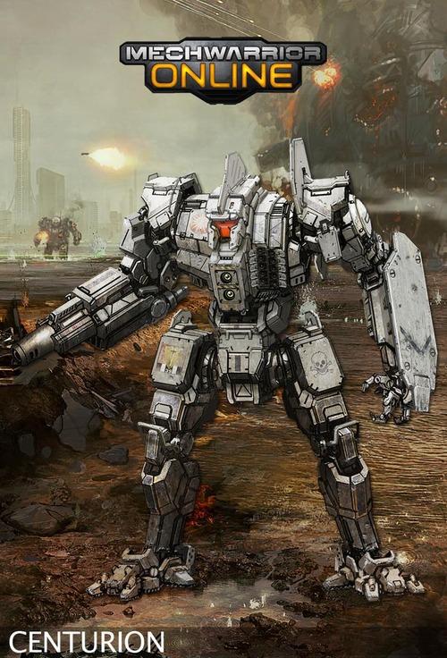 Mechwarrior Online: annunciata la classe dei Centurion