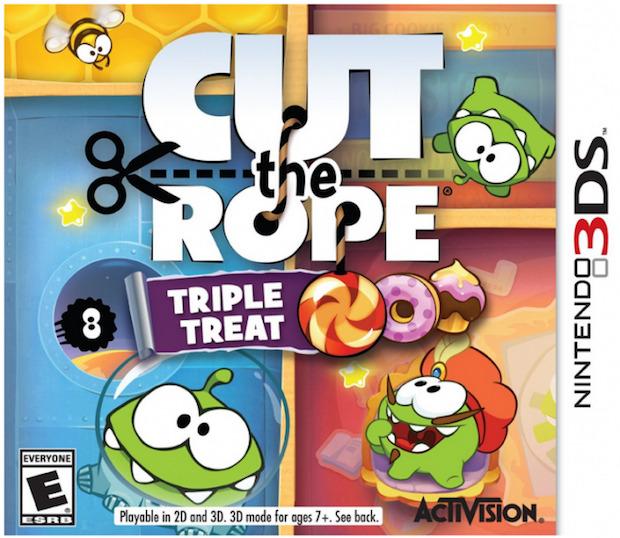 Cut the Rope: La Trilogia, copertina della versione americana
