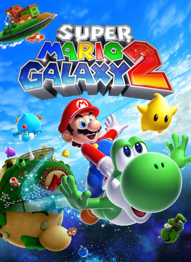 Super Mario Galaxy 2, Cover Artwork