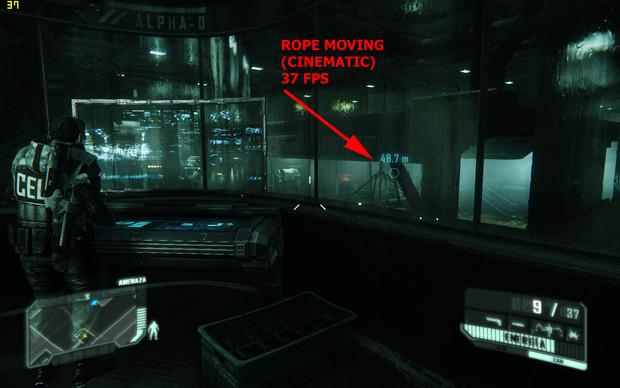 [Report] Crysis 3: la performance su PC messa in difficoltà dalla fisica delle funi