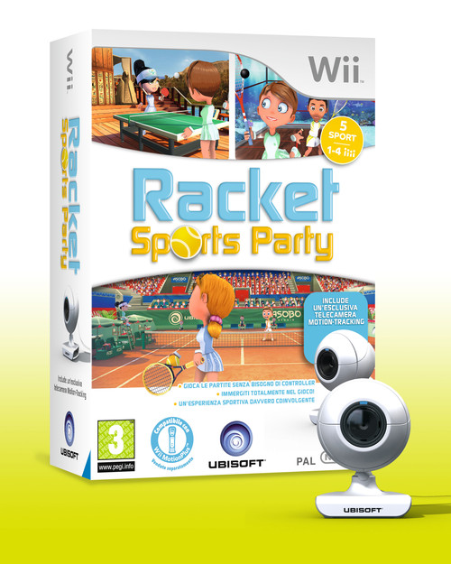 Racket Sports Party disponibile da oggi