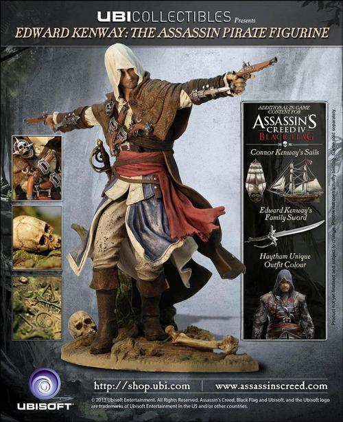 Ubisoft svela le collector's edition di Assassin's Creed IV Black Flag