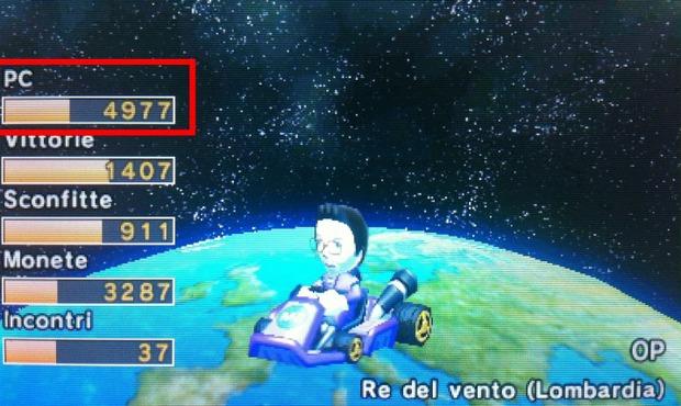 Chi è il miglior giocatore online di Mario Kart 7?