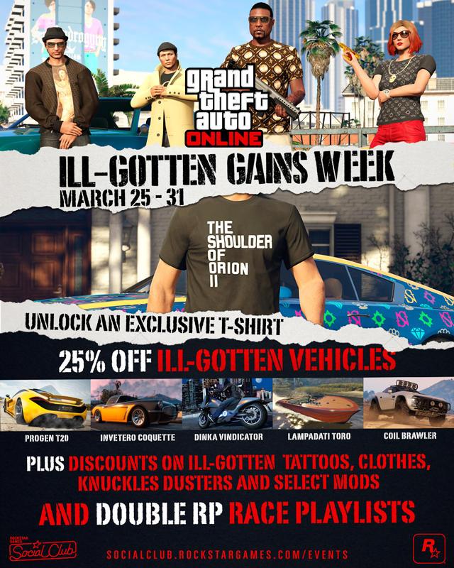 GTA Online: Grandi sconti fino al 31 marzo